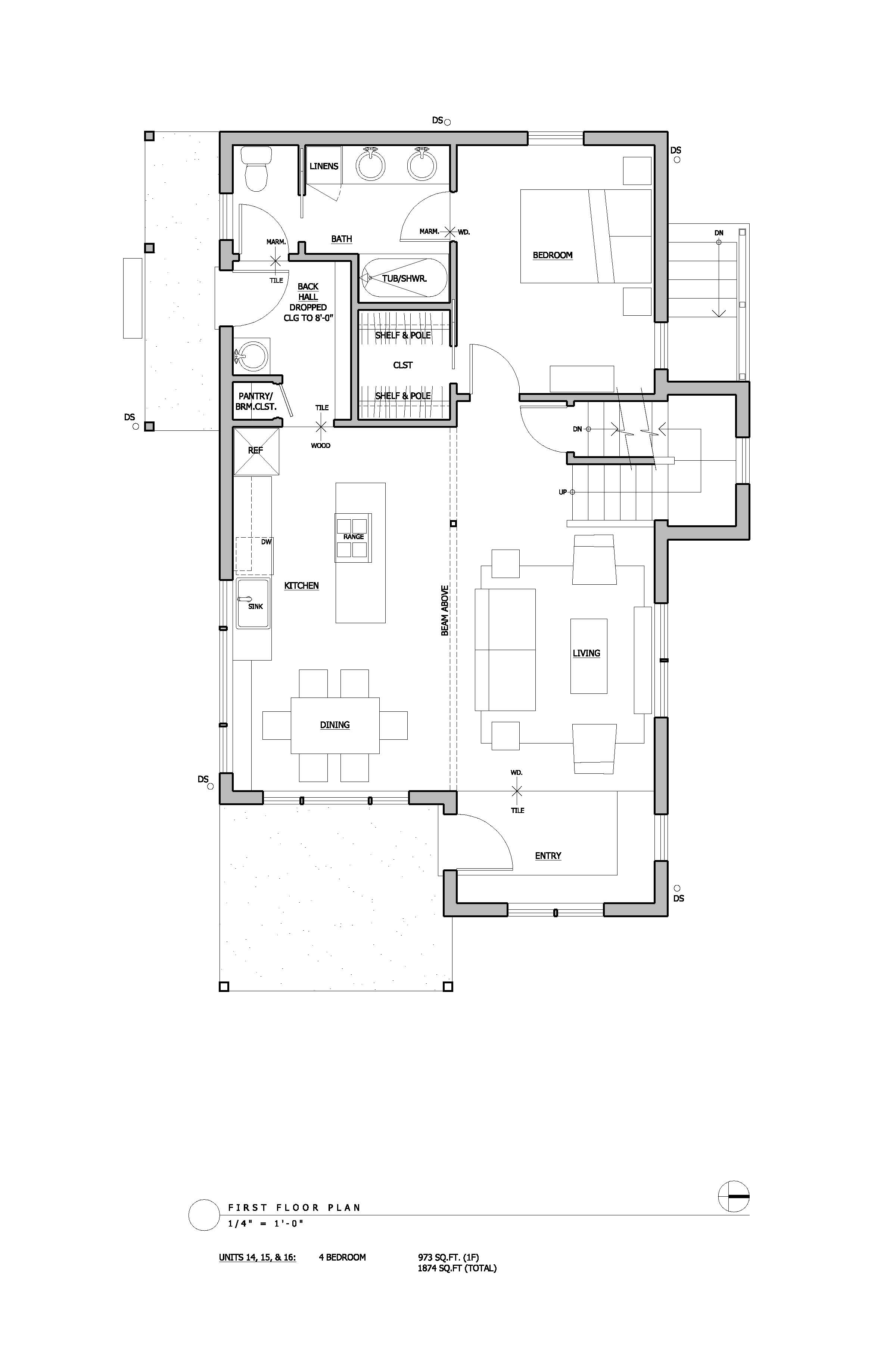 Floor Plans And Elevation Drawings Cully Grove